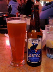 Indigo Imp Jester, Indigo Imp Brewery, Ohio breweries, Ohio craft beers, Ohio Booze Blog