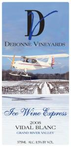 Debonne Winery, Ice Wine, Ohio wine, Ohio Booze Blog